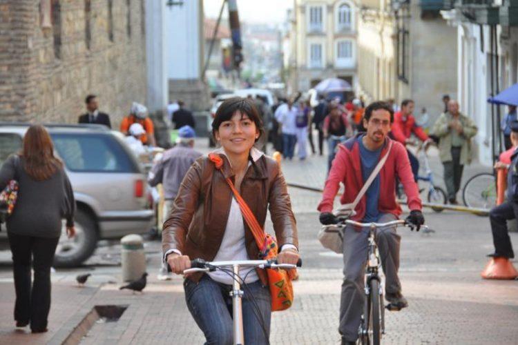 Movilidad sostenible en bicicleta